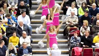 Sexy cheerleaders jiggle their round butts while dancing--_short_preview.mp4
