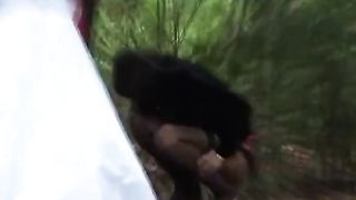 Russian bride and her bridesmaids pee in the woods--_short_preview.mp4