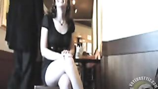 Amateur upskirt show in the coffee shop--_short_preview.mp4