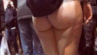 Perfect piece of ass jiggles in the middle of the street--_short_preview.mp4