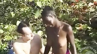 Sex on a picnic with a beautiful African girl--_short_preview.mp4