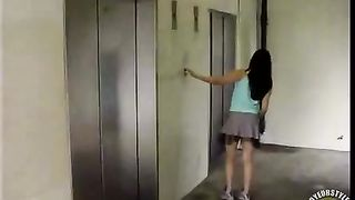 Shy maid peeing in the elevator--_short_preview.mp4