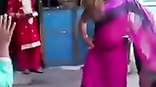 Stunning Indian woman dances around with one of her tits out--_short_preview.mp4