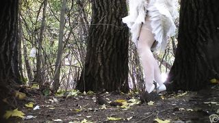 Russian bride and her bridesmaids take a piss in the woods--_short_preview.mp4