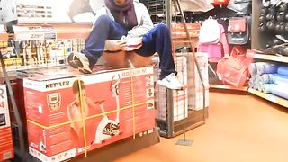 Public peeing in the sporting goods store--_short_preview.mp4