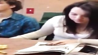 College girl jerks her friend's penis at lecture--_short_preview.mp4