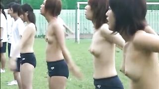 Topless Japanese babes do aerobics outdoors--_short_preview.mp4