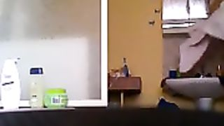 Bathroom spycam films my roommate after her shower--_short_preview.mp4