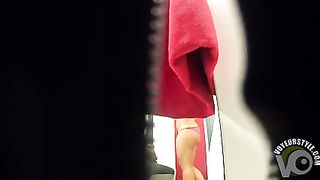 Coed girl trying on a bikini has great boobies--_short_preview.mp4