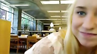 Shy girl toys her pussy in the library--_short_preview.mp4