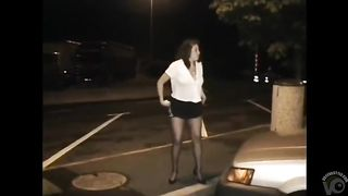 Asian beauty in stockings takes a quick piss in a parking lot--_short_preview.mp4
