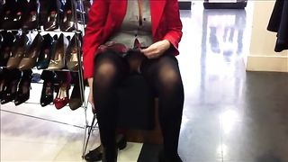 Masturbating while trying out new shoes--_short_preview.mp4