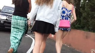 Slow motion walk with beauties in short skirts--_short_preview.mp4