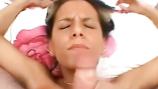 Light head hot chick gives nice tit fuck and gets her face totally cum covered--_short_preview.mp4