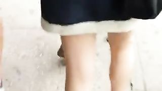 Taking a peak under her skirt--_short_preview.mp4