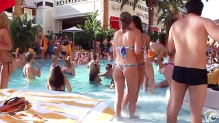Delicious honeys have some fun at the pool in their bikinis--_short_preview.mp4