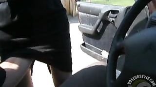 Fingering my wife up her skirt outdoors--_short_preview.mp4