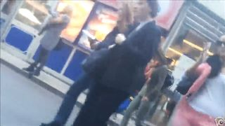 Braless girlfriend has sexy pokies in public--_short_preview.mp4