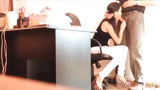 Hidden cam films a slim secretary blowing a big boss's cock--_short_preview.mp4