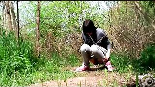 Desperate women pee in the bushes--_short_preview.mp4