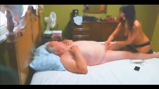 Old European tourist had his small wiener tugged and sucked on by a dirty Thai hooker--_short_preview.mp4