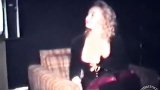 Blonde beauty blows two friends in retro video--_short_preview.mp4