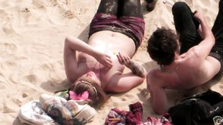 Busty bunny sunbathes with her top removed--_short_preview.mp4