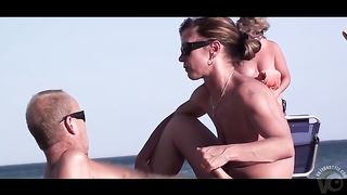 Wife sucks and strokes my friend's dick at the beach--_short_preview.mp4