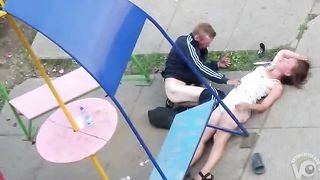 Wasted couple has sloppy sex in a public park--_short_preview.mp4