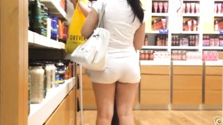Shopping with a big butt woman in tight shorts--_short_preview.mp4