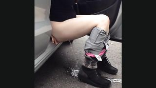 Teen takes a pee on the road and gets captured--_short_preview.mp4