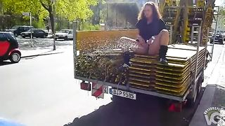 Amateur lass pissing on a car in public--_short_preview.mp4