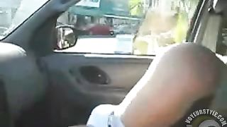 Wife pleasures her clit as we drive in the car--_short_preview.mp4