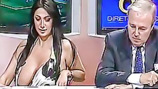Italian woman flashes her giant tits on TV show--_short_preview.mp4