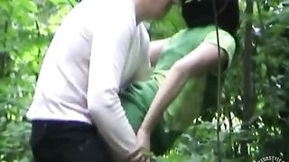 Girl in a dress fucked doggystyle in the woods--_short_preview.mp4