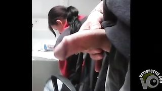 Stroking my weenie in her cubicle at work--_short_preview.mp4