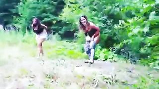 Chicks caught urinating in the wilderness--_short_preview.mp4