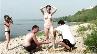Nude teen with beautiful body by the lake--_short_preview.mp4