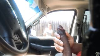 Cute black hooker checks out his stroking in the car--_short_preview.mp4