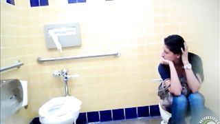 Sweet-looking lass wipes her pussy after taking a long piss--_short_preview.mp4