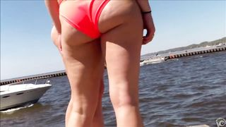 Butts in swimsuit bottoms look great in the sun--_short_preview.mp4
