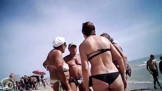 Milf with a tramp stamp at the beach--_short_preview.mp4