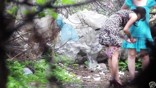 Girls filmed peeing in the city park by horny voyeur--_short_preview.mp4