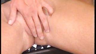 Curly blonde whore gives a cock massage to taste a cum--_short_preview.mp4