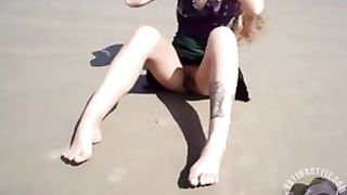 Filming tattooed girlfriend taking off her panties--_short_preview.mp4