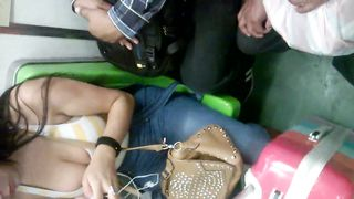 Big natural tits cleavage on the subway--_short_preview.mp4