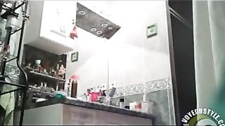 Someone's sister undresses and shaves a pussy hair in the bathroom--_short_preview.mp4