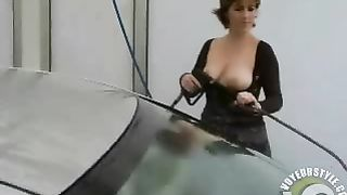 Milf in boots washes her car bottomless--_short_preview.mp4
