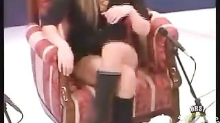 Desirable woman crosses her legs and reveals panties--_short_preview.mp4