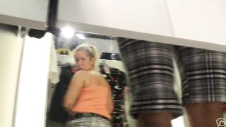 Checking out the buttocks of the pretty blonde--_short_preview.mp4